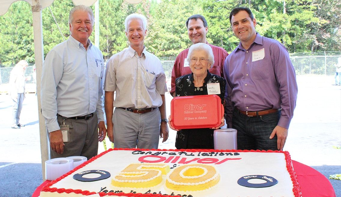 Oliver Rubber Manufacturing Facility Celebrates 50th Anniversary